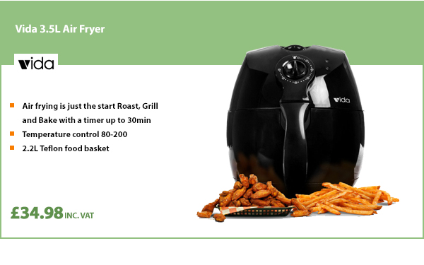 Vida 3.5L Air Fryer