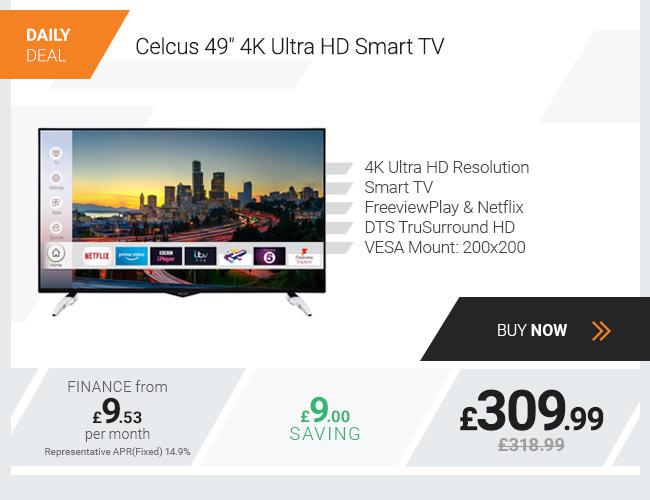 Celcus 49in 4K Ultra HD Smart TV