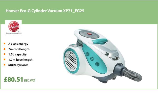 Hoover Eco-G Cylinder Vacuum XP71_EG25
