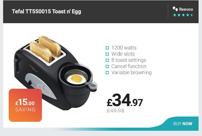 Tefal TT550015 Toast n Egg