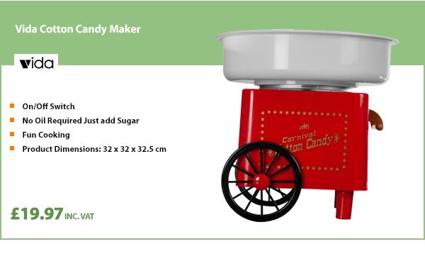 Vida Cotton Candy Maker