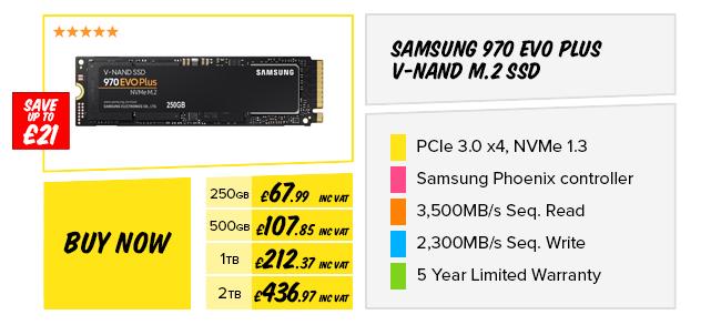 Samsung 970 EVO Plus V-NAND M.2 SSD