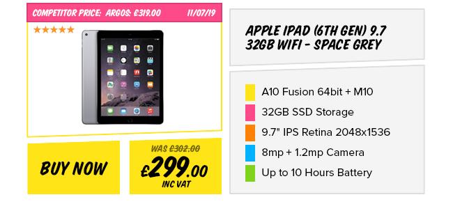 Apple iPad (6th Gen) 9.7 32GB Space Grey