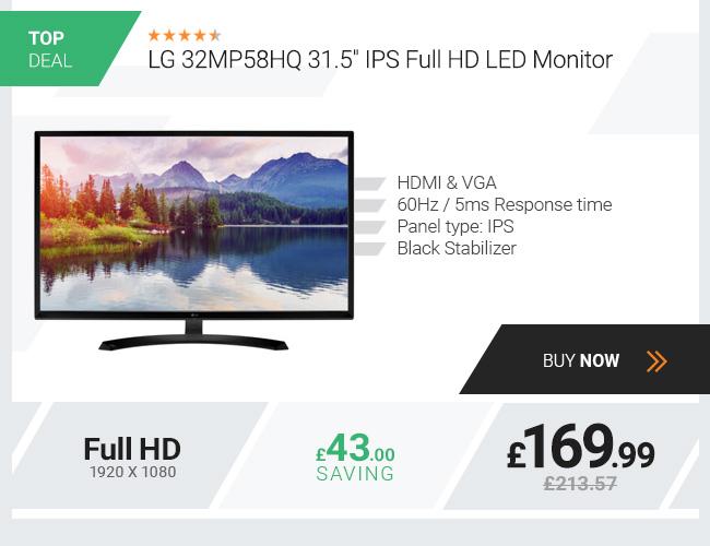 LG 32MP58HQ 31.5in IPS Full HD LED Monitor