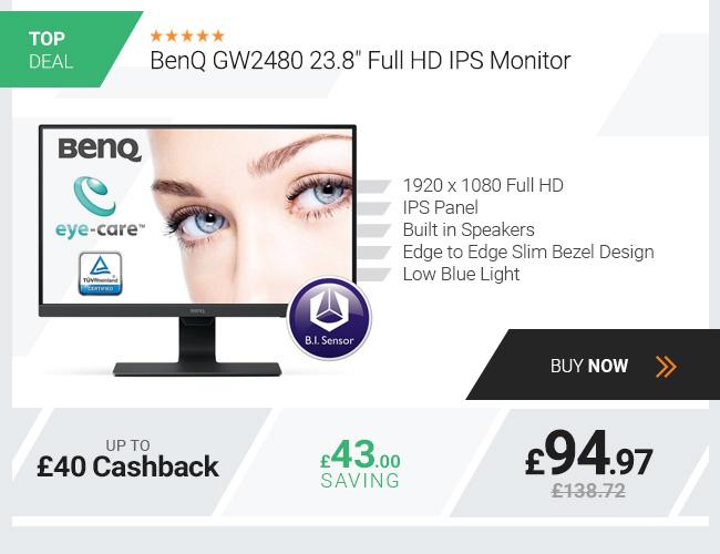 BenQ GW2480 23.8in Full HD IPS Monitor
