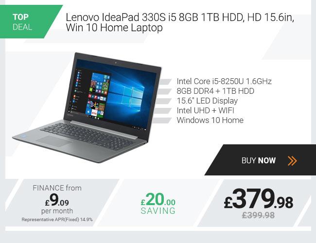 Lenovo IdeaPad 330S-15IKB Laptop, Intel Core i5 8GB 256GB Laptop