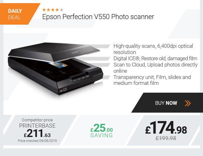Epson Perfection V550 Photo Scanner