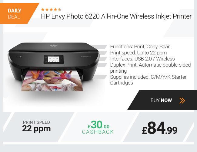 HP Envy Photo 6220 All-in-One Wireless Inkjet Printer