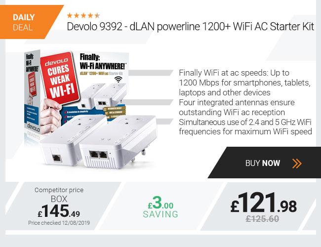 Devolo 9392 - dLAN powerline 1200+ WiFi AC Starter Kit