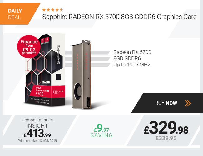Sapphire RADEON RX 5700 8GB GDDR6 Graphics Card