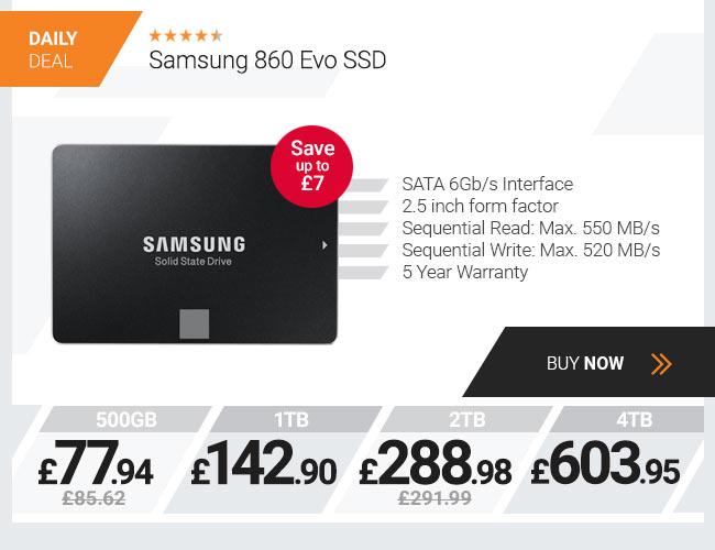 Samsung 860 Evo 4TB SSD