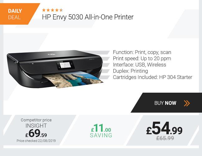 HP Envy 5030 All-in-One Wireless Inkjet Printer