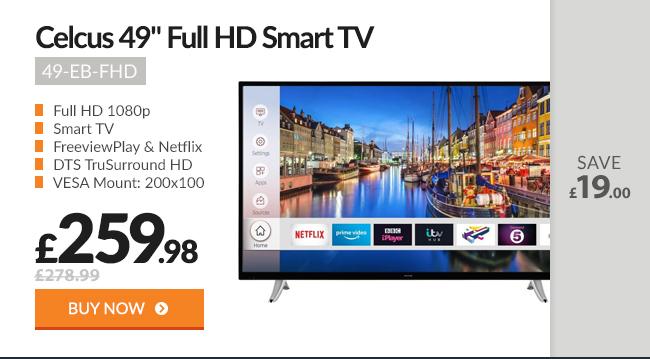 Celcus 49in Full HD Smart TV