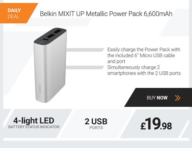 Belkin MIXIT UP Metallic Power Pack 6600mAh
