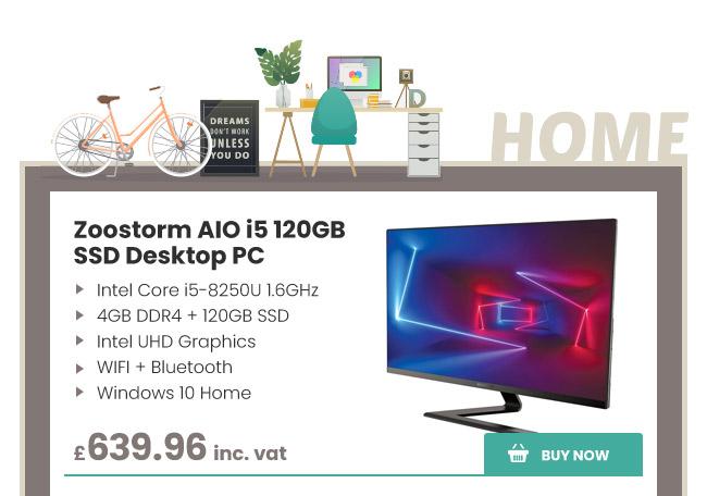 Zoostorm AIO i5 120GB SSD Desktop PC