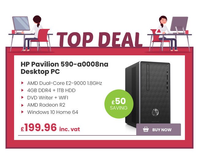 HP Pavilion 590-a0008na Desktop PC