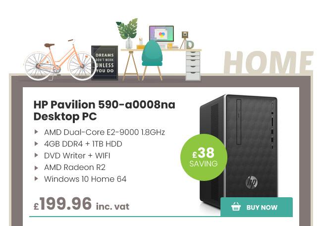 HP Pavilion 590-a0008na Desktop PC