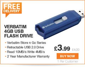 Verbatim 4GB USB - £3.99