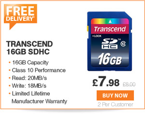 Transcend SDHC - £7.99