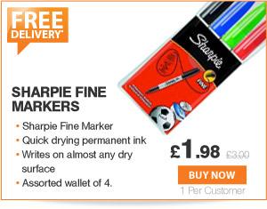 Sharpie Fine Markers - £1.99