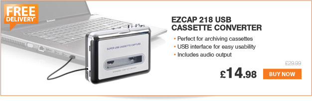Ezcap 218 USB Cassette Convertor - £14.99