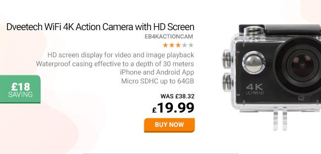 4K HD Action Camera