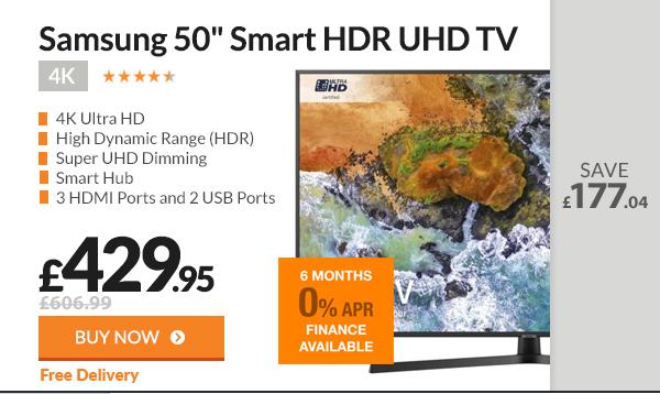 Samsung UE50NU7400U 50inch Smart HDR 4K UHD TV