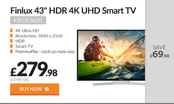 Finlux 43in HDR 4K Ultra HD Smart TV