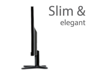 Slim and Elegant Design