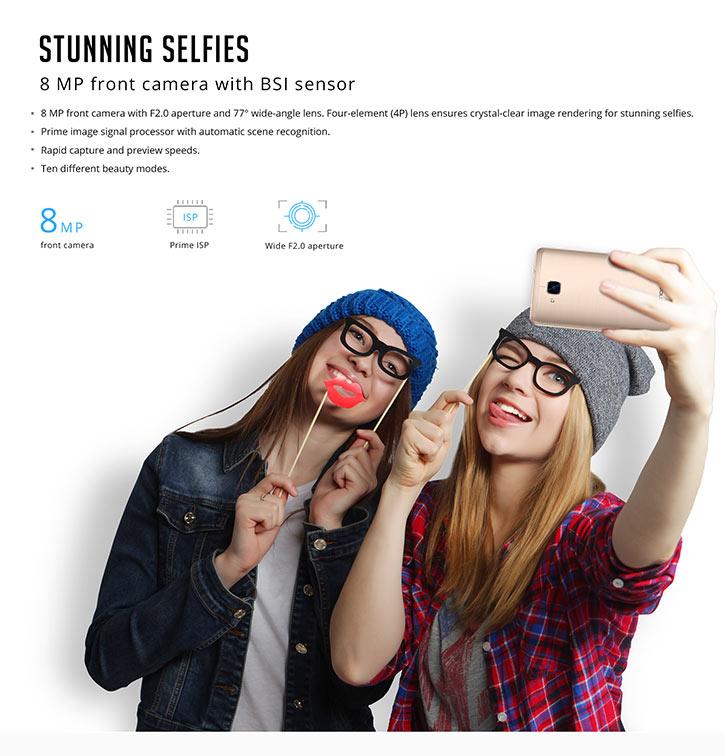 Stunning selfies