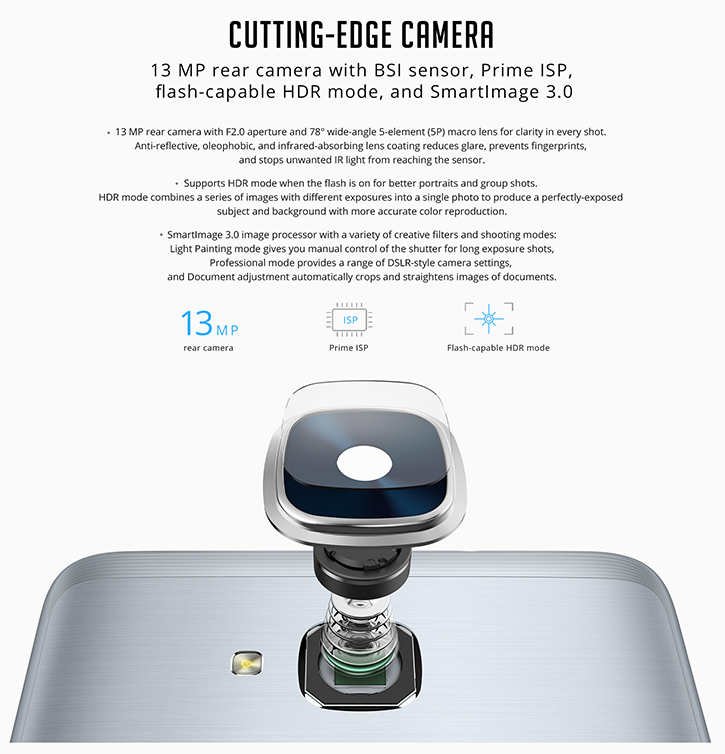 Cutting edge camera