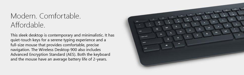 c002a8477b4 Microsoft Wireless Desktop 900 Keyboard and Mouse Set | Ebuyer.com