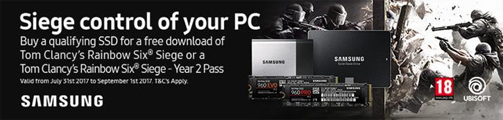 Samsung SSD Siege Control