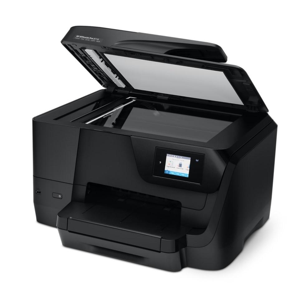 Hp Officejet Pro 8710 All In One Multifunction Wireless Inkjet