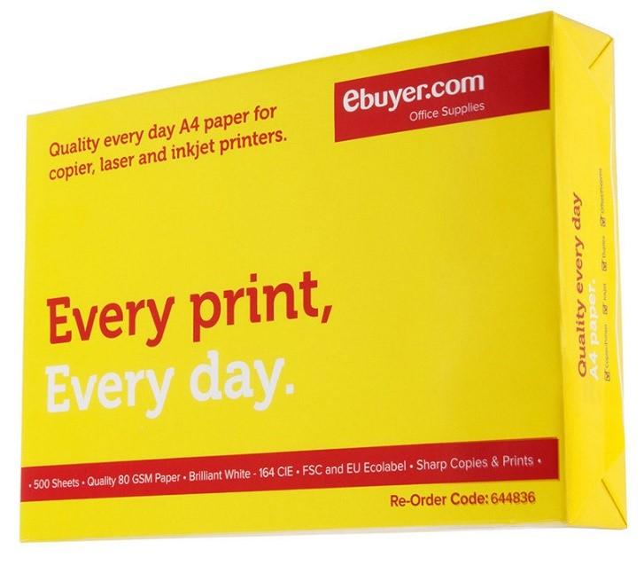 EVERYDAY A4 WHITE PAPER 80GSM PRINTER COPIER