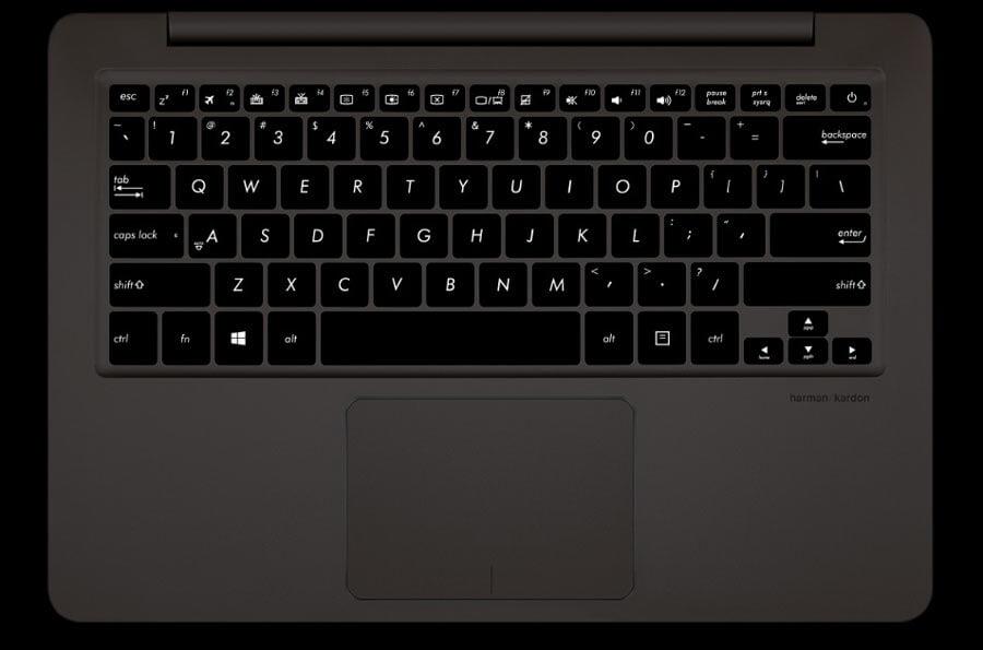 Comfortable Backlit Keyboard