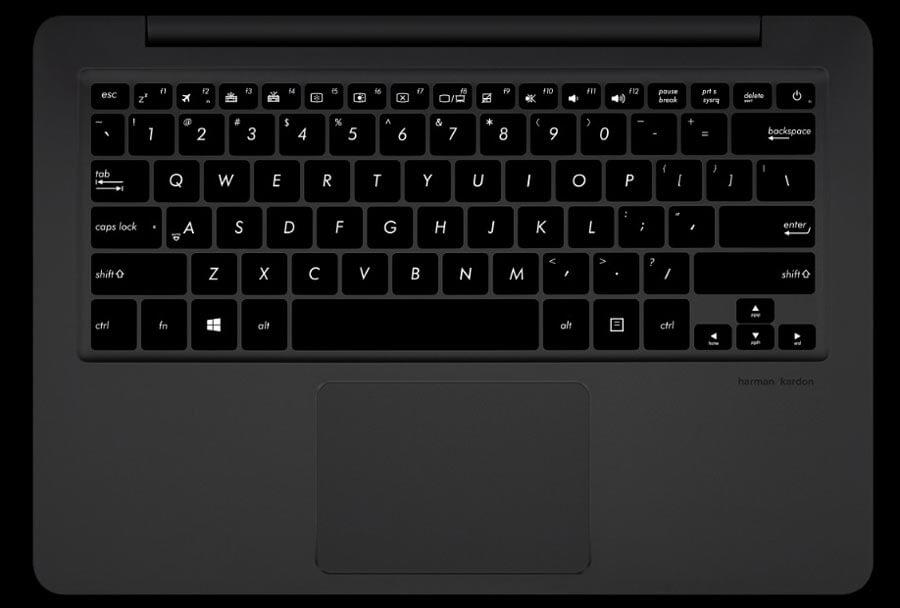 Outstandingly Comfortable backlit Keyboard