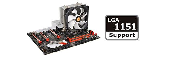 Compatible with Intel LGA 1366/1156/1155/1151/1150/775
