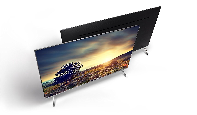 Samsung Mu7000 49 Ultra Hd Smart Tv # Meuble Tv Angle Spaceo