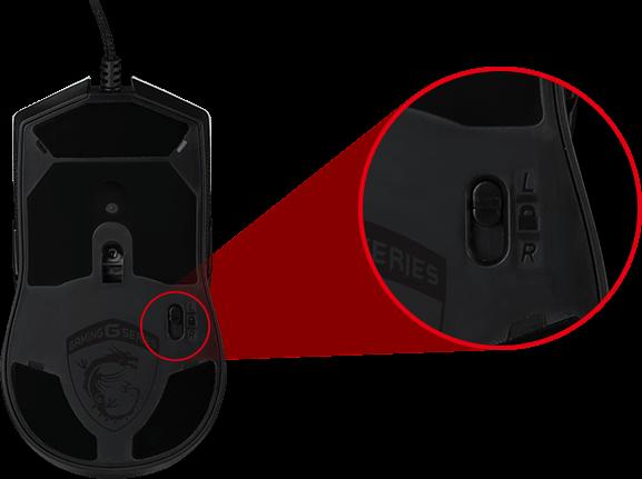 Convenient Side Button Switch