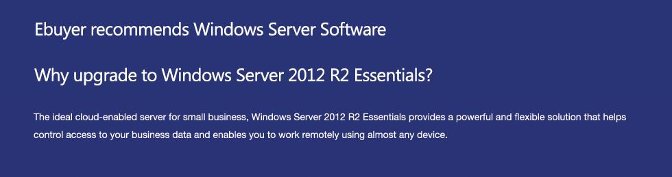 Windows Server Upgrade