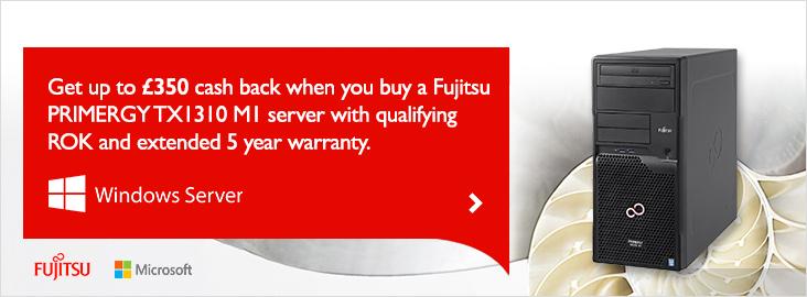 Fujitsu Server Promo
