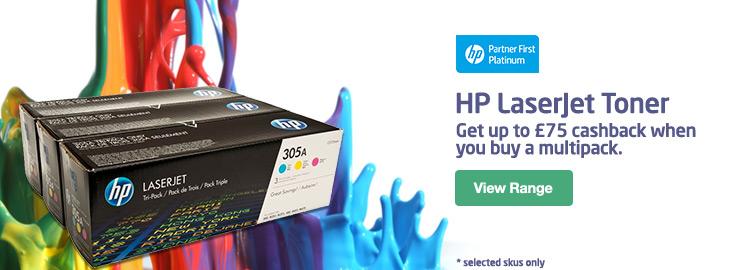 HP Original Toner Cash Back