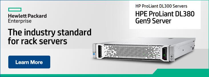 HPE DL300 Series Rack