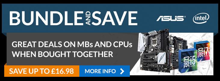 Gaming Bundles - Intel, Asus