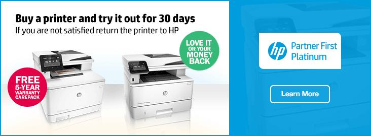 HP Printer 5 Year Warranty
