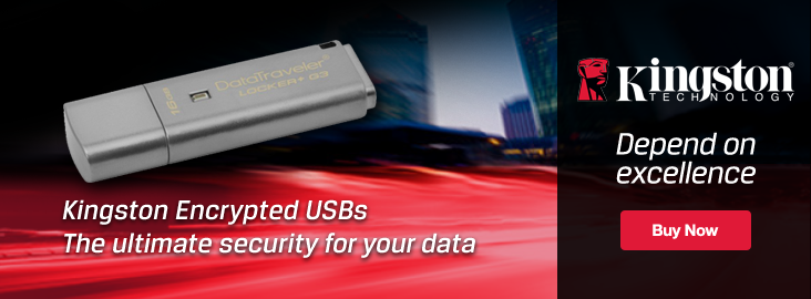 Kingston Encrypted Flash Drives