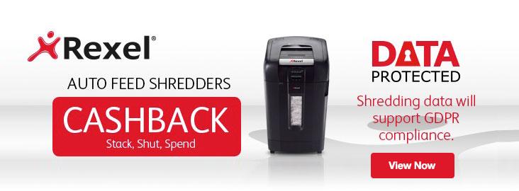 Rexel Paper Shredders Cashback