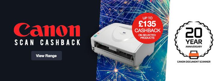 Canon Scanner Cashback