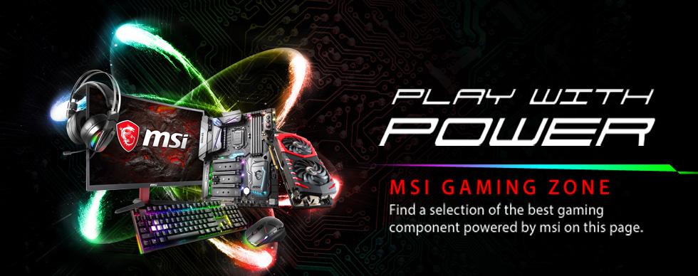 MSI Gaming Zone